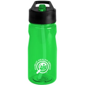 Promotional Notched Tritan Water Bottle with Loop