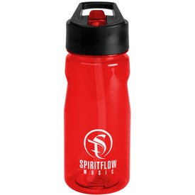 Notched Tritan Water Bottle with Loop Giveaways