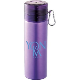 Logo Oslo Aluminum Sports Bottle