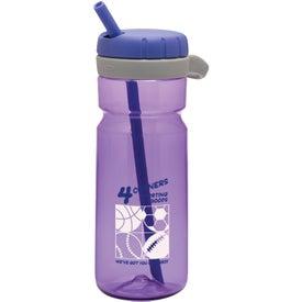 Logo OXO Twist Top Bottle