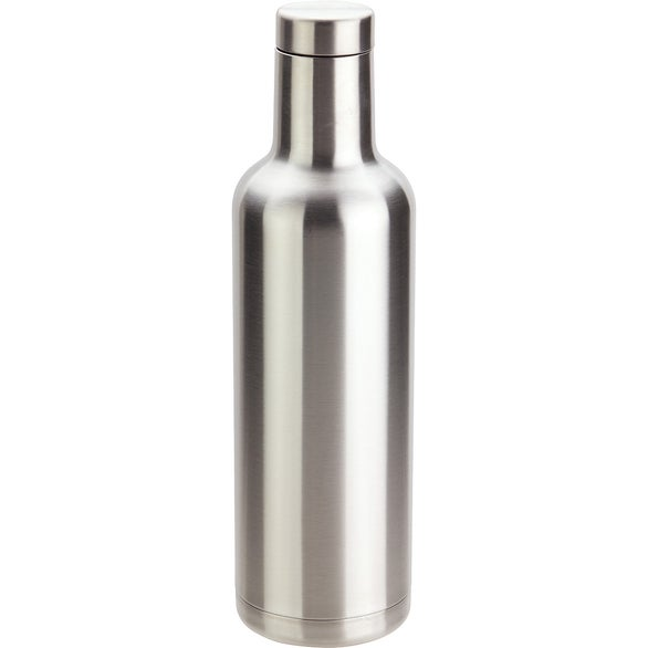 Silver Panama Vacuum Insulated Stainless Steel Bottle