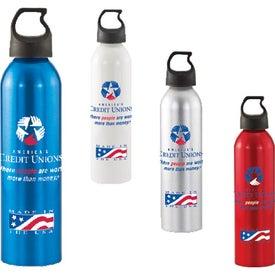 Monogrammed Patriot Aluminum Bottle