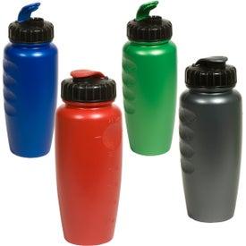 Branded Pearl-Tone Gripper Bottle