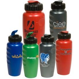 Monogrammed Pearl-Tone Gripper Bottle