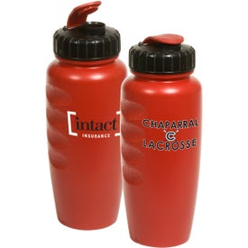 Pearl-Tone Gripper Bottle with Your Logo