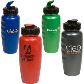 Custom Pearl-Tone Gripper Bottle