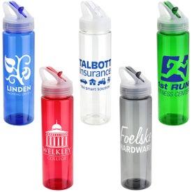 Peloton Eco-Polyclear Bottle with Flip-Up Lid (25 Oz.)