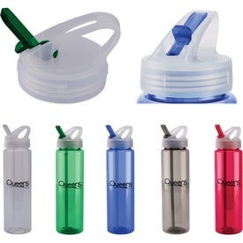 PET Freedom Bottle With Flip Up Sipper Lid (26 Oz.)