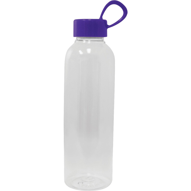 Pet plastic water bottle 20 oz personalized water bottles for Unique plastic bottles