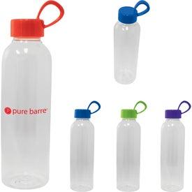 PET Plastic Water Bottle (20 Oz.)