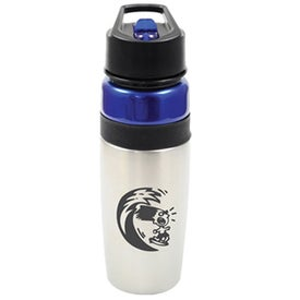 Monogrammed Phoenix Bottle