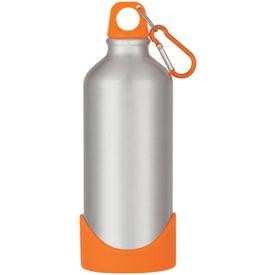 Advertising Aluminum Bike Bottle With Plastic Base