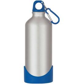 Branded Aluminum Bike Bottle With Plastic Base