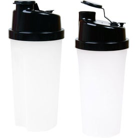 Personalized Plastic Fitness Shaker with Measurements
