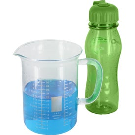 Slim Polly Sports Bottle Imprinted with Your Logo
