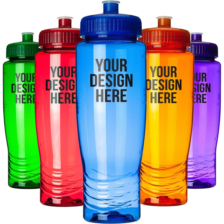 Water Bottle Personalised: Eco-Friendly Sports Bottle (28 Oz.)