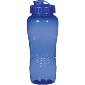 Poly Clean Wave Bottle for Your Company