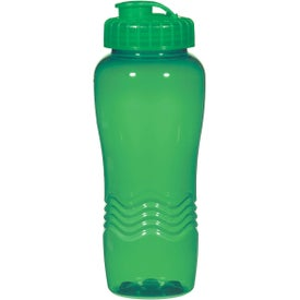Poly Clean Wave Bottle for your School