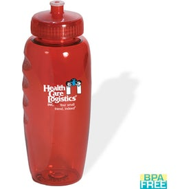 Promotional PolyClear Gripper Bottle
