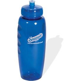 PolyClear Gripper Bottle (30 Oz., BPA Free)