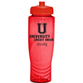 Customized Poly Fresh Rainier Water Bottle
