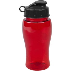 Poly Pure Bottle with Flip Lid for Your Company