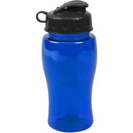 Poly Pure Bottles with Flip Lid (18 Oz.)