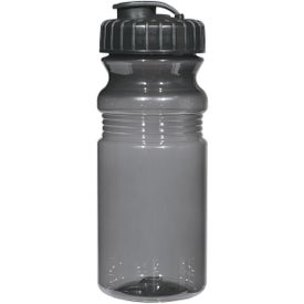 Advertising Poly Clear Fitness Bottle with Super Sipper Lid