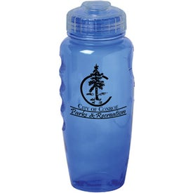 Imprinted Poly-Cool Bottle