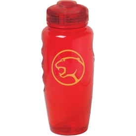 Poly-Cool Bottle Printed with Your Logo