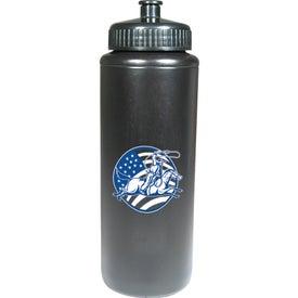 Polyethylene Sports Bottle (32 Oz.)
