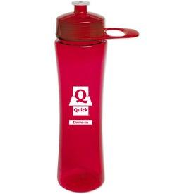 Logo PolySure Exertion Bottle with Grip