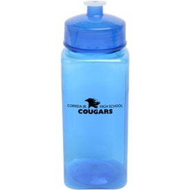 Imprinted PolySure Squared-Up Bottle
