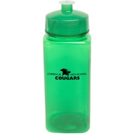 Promotional PolySure Squared-Up Bottle