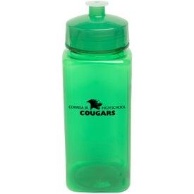 Promotional PolySure Squared-Up Bottle