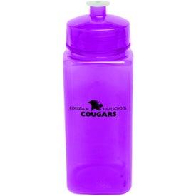 Imprinted PolySure Squared-Up Bottle