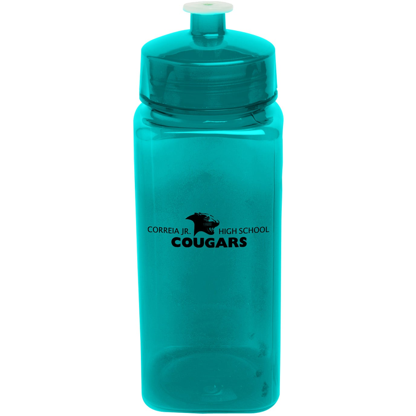promotional 24 oz polysure squared up bottles with custom logo for 0 86 ea