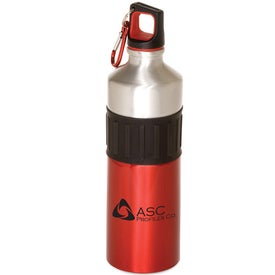 Advertising Power Grip Aluminum Bottle