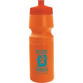 Premium Bike Bottle with Your Slogan