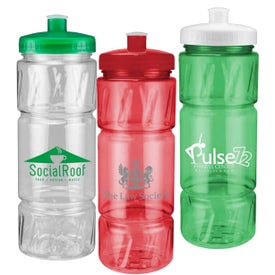 Pulse Bottle with Low Profile Push Pull Lid (22 Oz.)