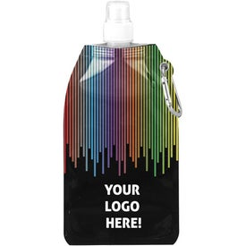 Rainbow Collapsible Water Bottle (16.9 Oz.)