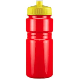Promotional Recreation Bottle with A Push Pull Lid