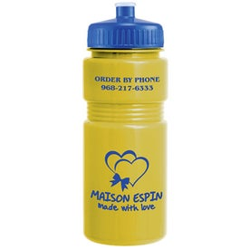 Recreation Bottle with A Push Pull Lid (20 Oz.)