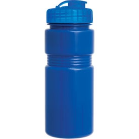Customized Recreation Bottle With A Flip Top Lid