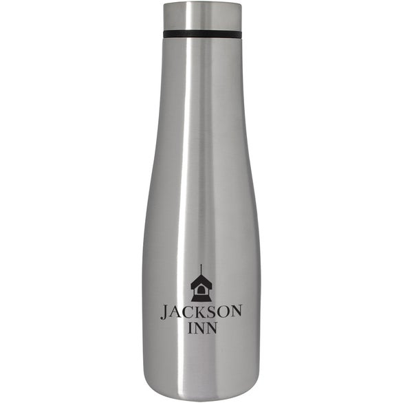 Silver Refresh Stainless Steel Bottle
