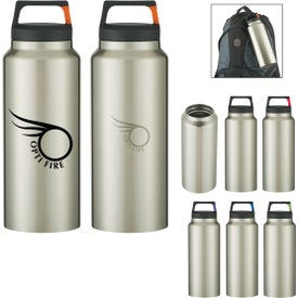 Rover Stainless Bottle with Carabiner Clip (36 Oz.)