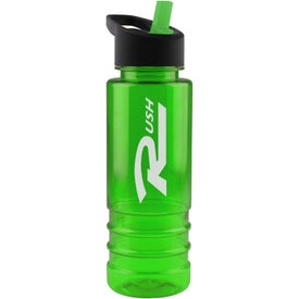 Salute Tritan Bottle with Flip Straw Lid for Promotion