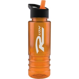 Salute Tritan Bottle with Flip Straw Lid for your School