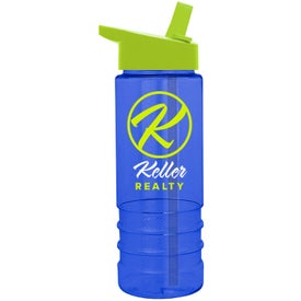 Customized Salute Tritan Bottle with Flip Straw Lid