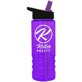 Salute Tritan Bottle with Flip Straw Lid Branded with Your Logo